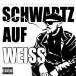 Schwartz auf Weiss
