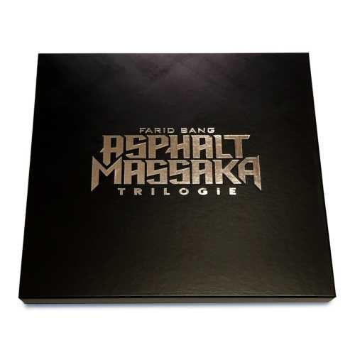 Asphalt Massaka Trilogie Box
