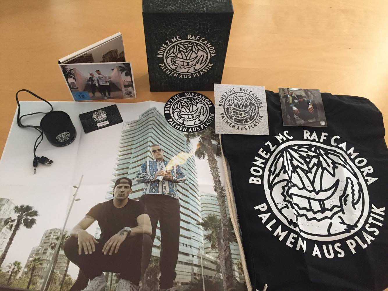 Bonez Mc Raf Camora Palmen Aus Plastik Cover Features Release