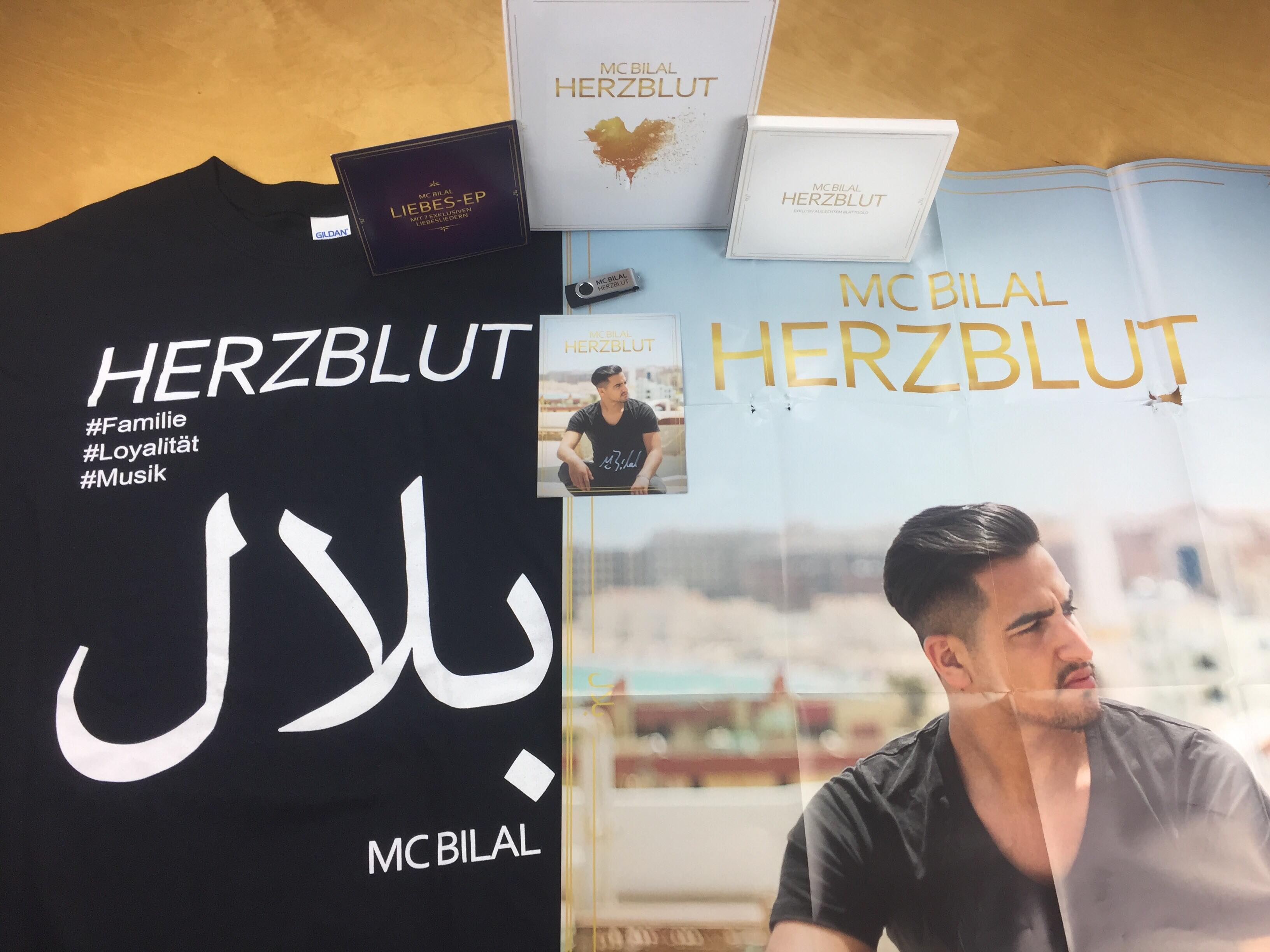 Mc Bilal Herzblut Cover Features Release Date Snippet