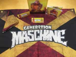 Gener8tion Maschine Box Inhalt